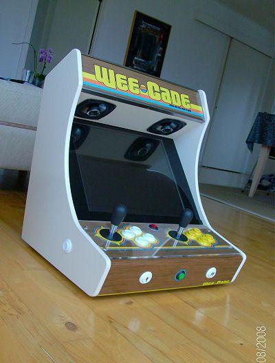 borne arcade avec emulateur